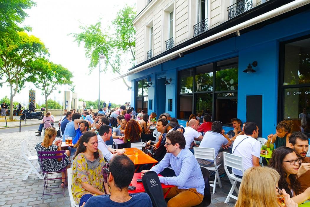 Terrasse de ouf moncoeurbelleville - Restaurant en terrasse paris ...