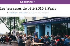 Summer 2016 Paris terraces