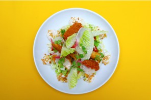 Chic & popular Caesar salad