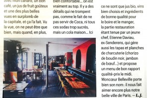 My heart is beating for Télérama Magazine