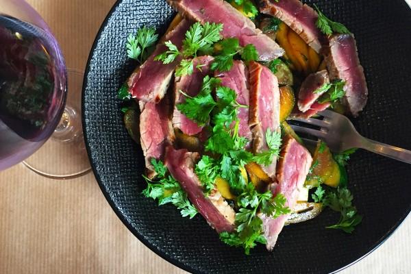 filet-boeuf-marine-miso-legumes-croquants