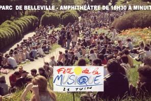 Musique Festival 2017 in Belleville Park