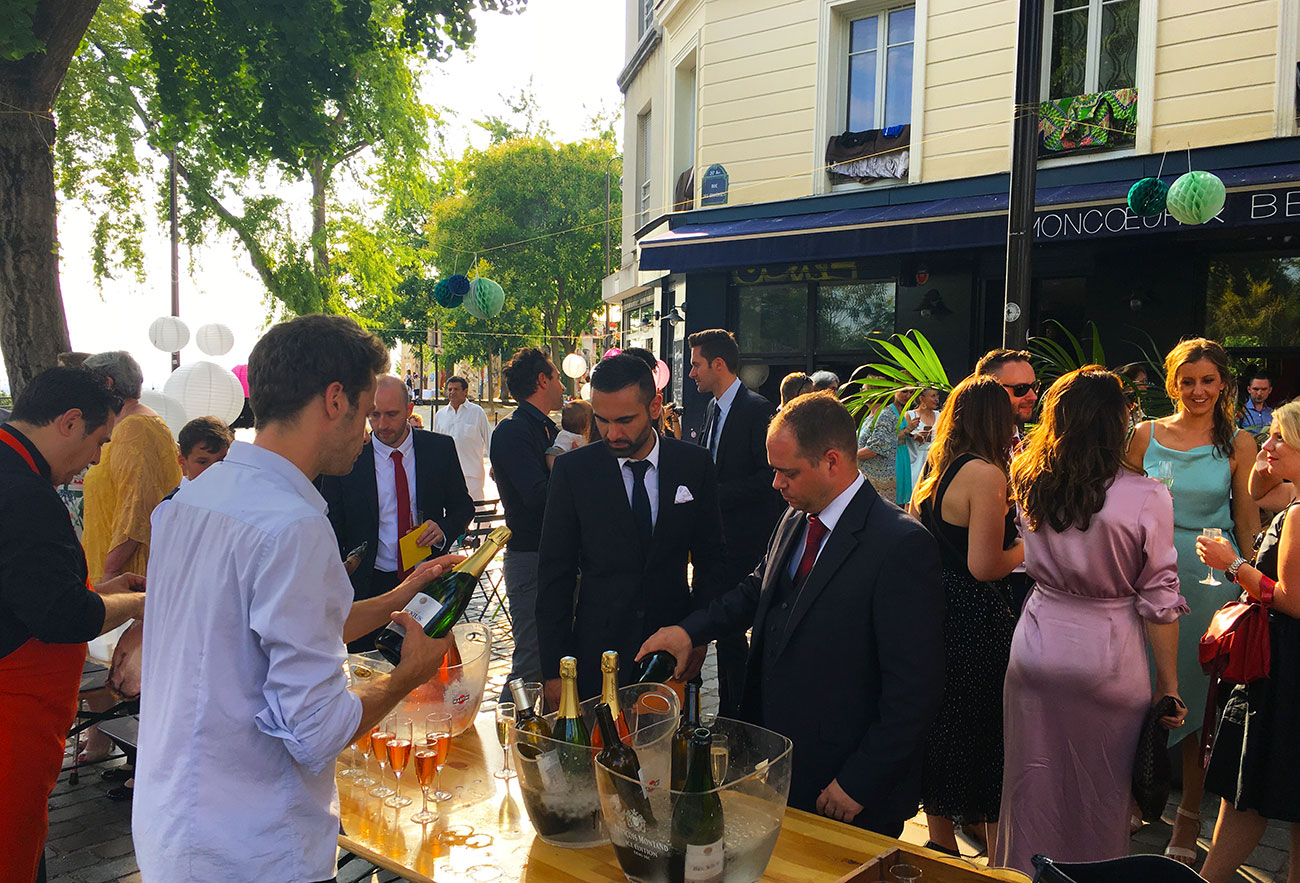mariage-margot-franck-terrasse-restaurant-paris-moncoeur-belleville-paris-bar-champagnee