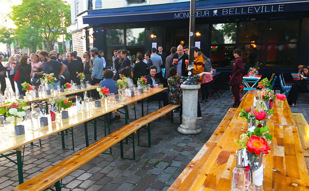 mariage-terrasse-paris-restaurant-moncoeur-belleville-perrine-xavier-diner