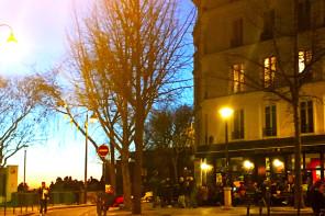 Enchanted Parisian terrace