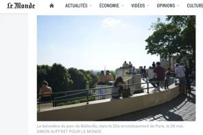 "Moncoeur Belleville in ""Le Monde"" newspaper"